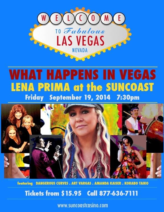 Lena Prima: Vegas Poster